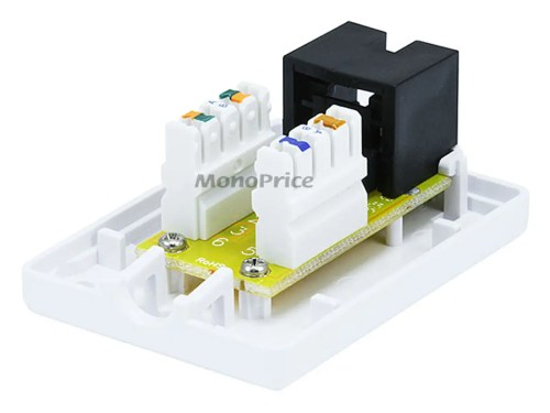 small resolution of monoprice surface mount box cat6 single small image 3