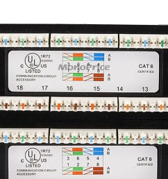 cat 6 patch panel wiring diagram [ 1200 x 900 Pixel ]