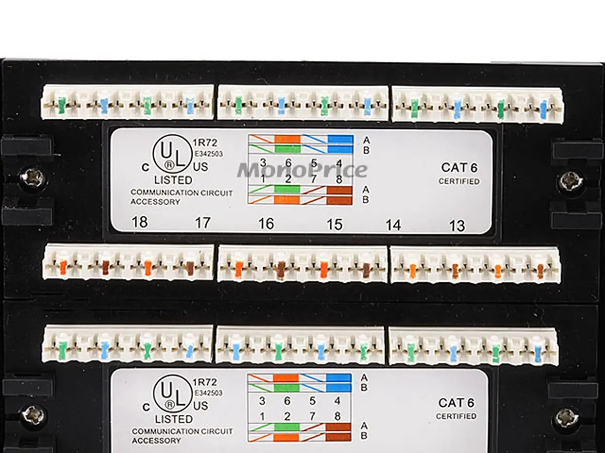 hight resolution of cat 6 patch panel wiring diagram