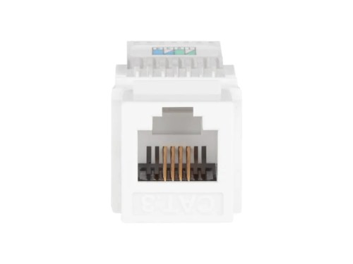 small resolution of monoprice rj11 toolless keystone jack white small image 3