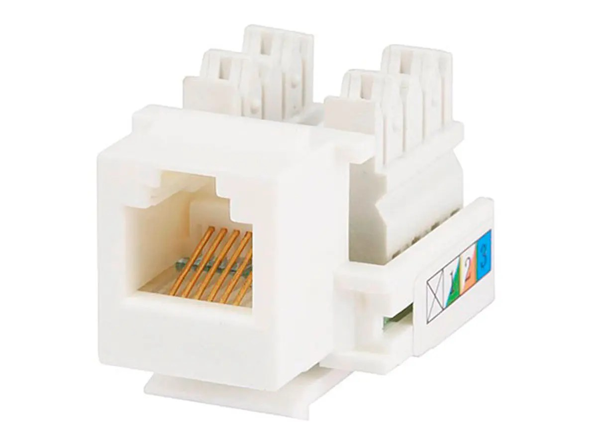 rj11 keystone jack wiring diagram dryer power cord monoprice 7296 rj 12 110 type 90 white
