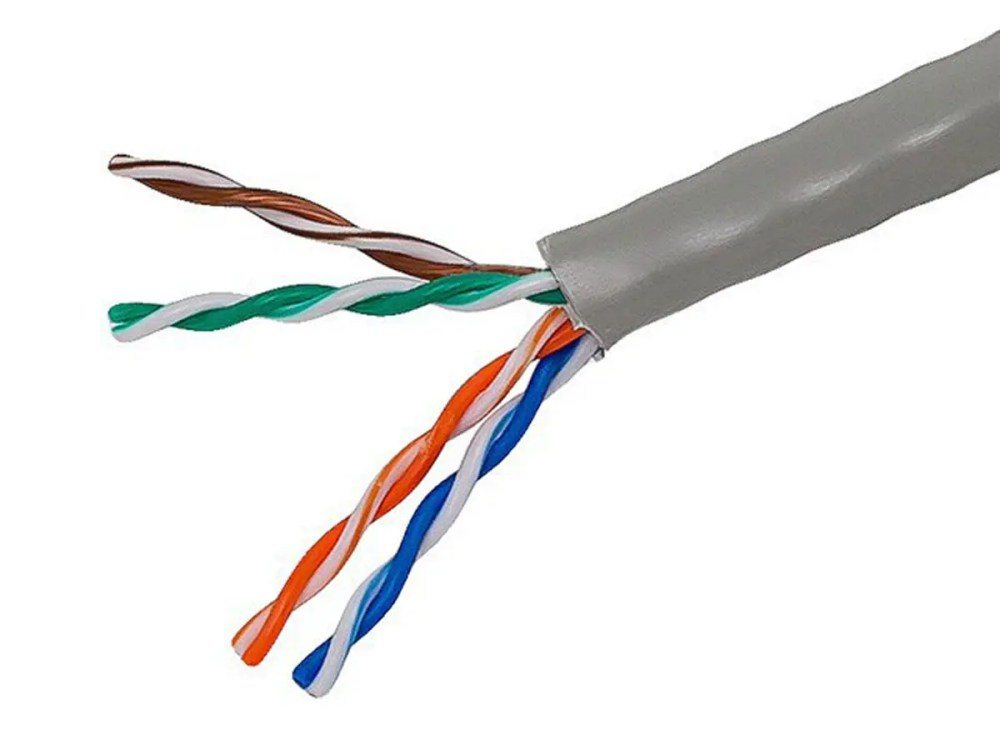 medium resolution of monoprice cat5e ethernet bulk cable solid 350mhz utp cmr riser rated
