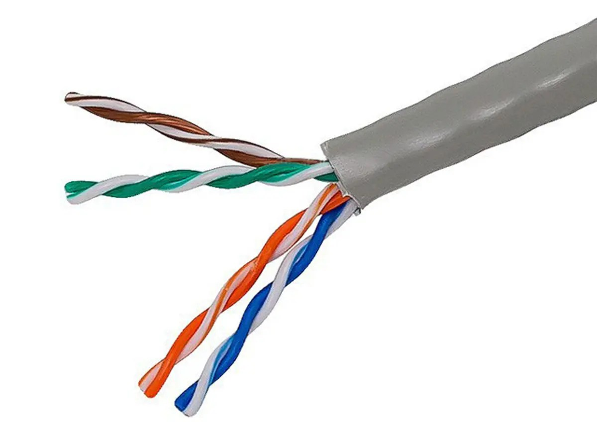 hight resolution of monoprice cat5e ethernet bulk cable solid 350mhz utp cmr riser rated