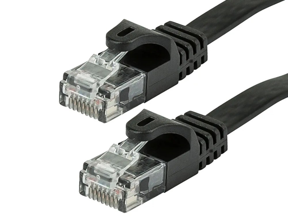 medium resolution of monoprice cat5e ethernet patch cable snagless rj45 flat stranded 350mhz utp