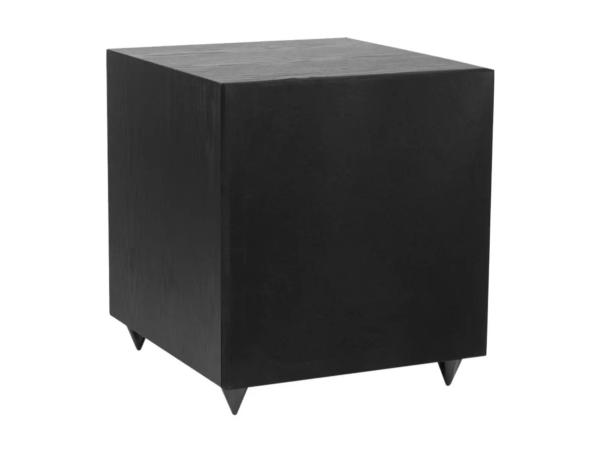 hight resolution of monoprice 12in 150 watt powered subwoofer black large image 1