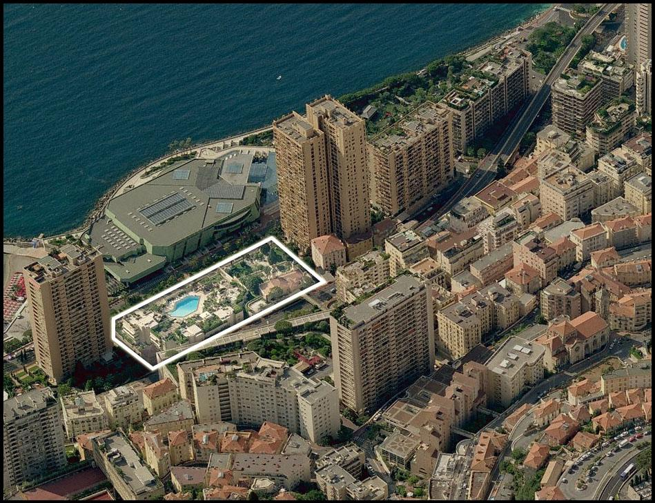 Apartments to sell or to rent in the building 21 Princesse Grace in MonteCarlo