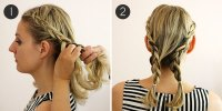 Hairstyle How-To: Easy Braids for Short Hair   more.com