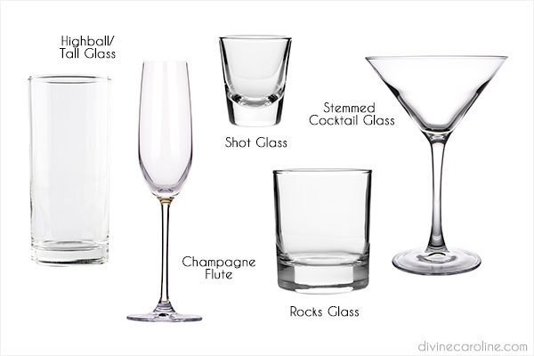 Glassware For a Home Bar
