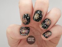 Light Up the Night with These Fireworks Nails | more.com