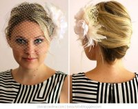 The Perfect DIY Birdcage Veil Hairstyle | more.com