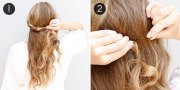 romantic fishtail braid hair tutorial