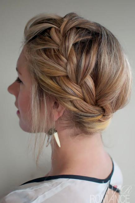 How to french braid your own short hair step by how to 50 fabulous french braid hairstyles to diy more com learn how to braid your own hair and ccuart Choice Image