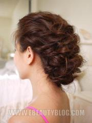 gorgeous prom updos dancing