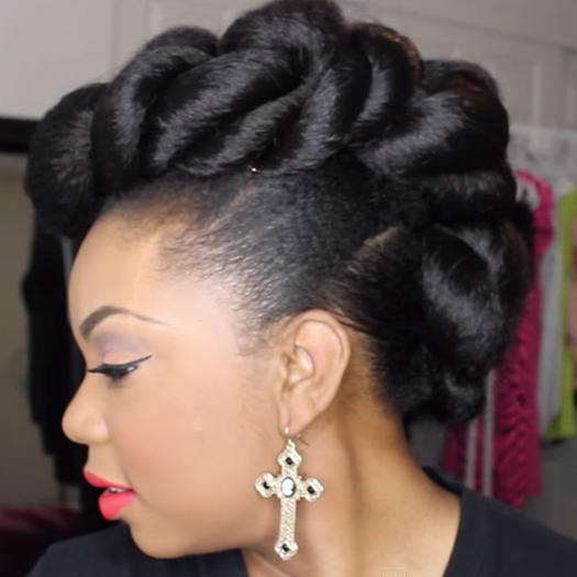 Stunning Wedding Hairstyles For Black Women More Com