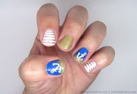 Summer Nails: Anchor-in-the-Sand Nail Design | more.com