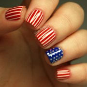 4th of july nails stars and stripes