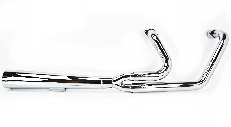 Vance Hines 2 into 1 Pro Pipe HS Full Exhaust Chrome 25401