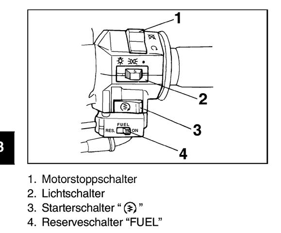 Yamaha XV 535Benzin Pumpe (Benzin, Benzinpumpe)