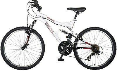 Polaris Ranger Full Suspension Mountain Bike, 24 inch