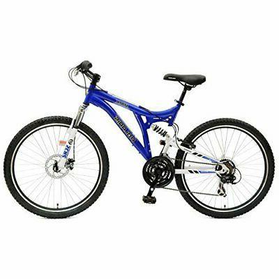 Polaris RMK Full Suspension Mountain Bike, 26 inch