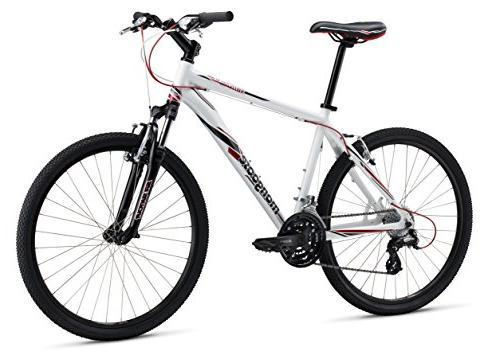 Mongoose M13SWICM1 Men's Switchback Comp Mountain Bike, White,