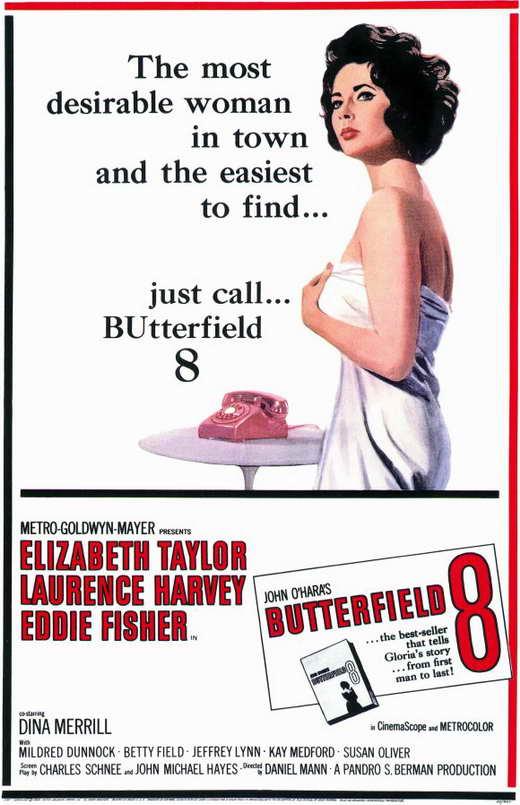 1960 Elizabeth Taylor Butterfield 8