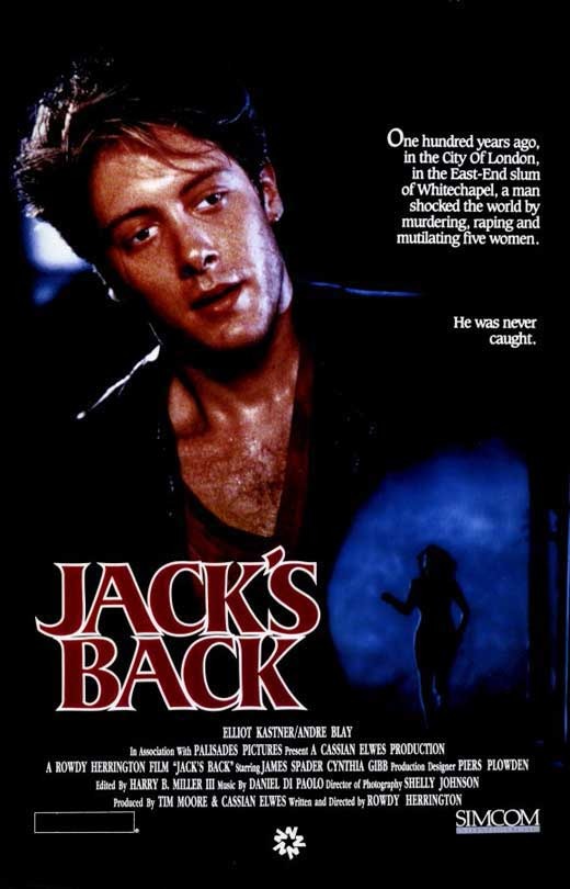 Jacks Back Movie Posters From Movie Poster Shop