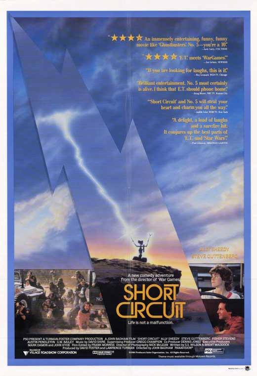 Short Circuit 1986 Poster