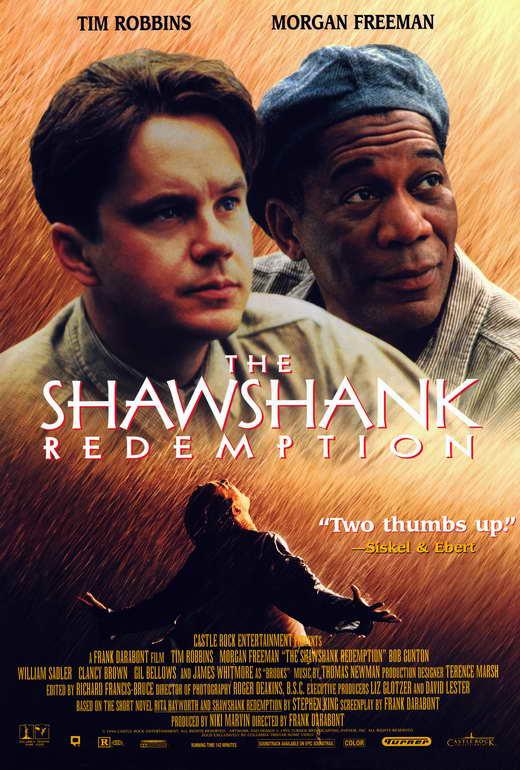 Shawshank Redemption Poster Font : identifythisfont
