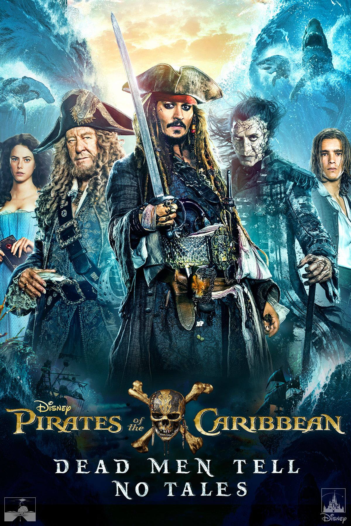 Pirates Of The Caribbean 3 Sub Indo : pirates, caribbean, Pirates, Caribbean:, Tales, Movie, Movies, Anywhere