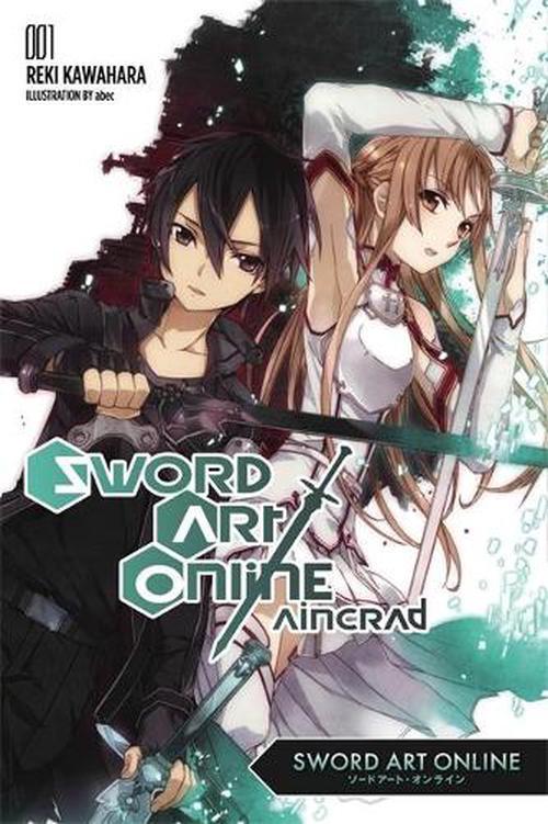 New Sword Art Online 1 Aincrad By Reki Kawahara Paperback