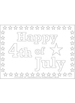 4th Of July Coloring Pages Mr Printables