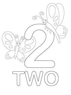 Number Coloring Pages Mr Printables