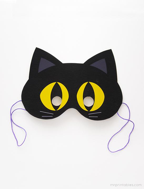 printable halloween masks mr
