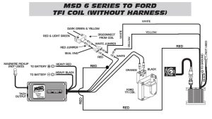Ford TFI To Timing Control To 6420 WO Harness  MSD Blog