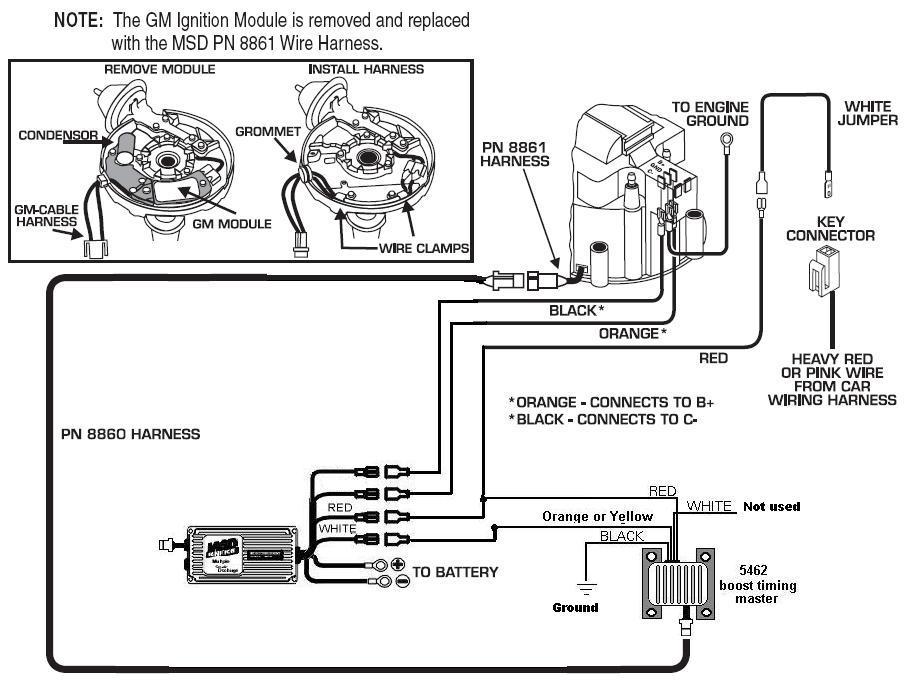 mallory distributer wiring diagram
