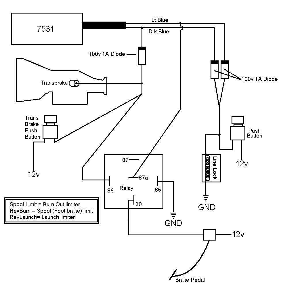 msd 2 step wiring diagram dayton thermostat foot brake spool limiter - blog
