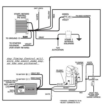Msd Street Fire Ignition Wiring Diagram MSD Coil Wiring