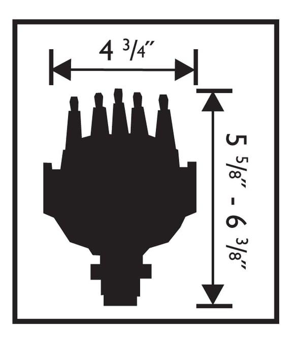 MSD 8570 Chevy Pro-Billet Small Diameter V8 Distributor