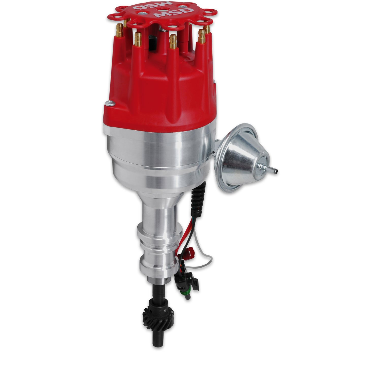 ford 460 distributor wiring diagram visio swim lane template msd 8350 351c ready to run pro billet