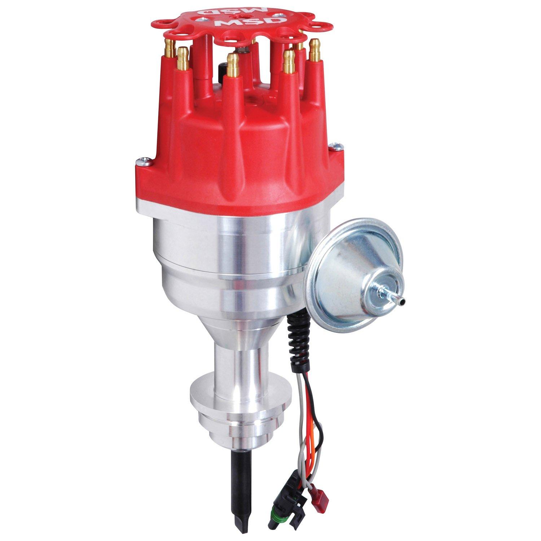 msd 6a wiring diagram chrysler gm 4 wire alternator 8386 383 400 ready to run distributor