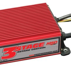 Msd Street Fire Ignition Box Wiring Diagram Diesel Engine Starter 8970 Three Stage Retard Control Performance Products