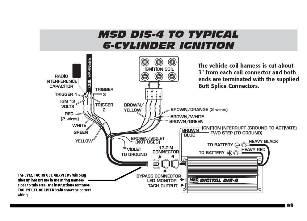 Msd 6al Wiring Diagram Chevy - Jebale.com Hai To Wiring Gm Msd Dis Schematic on