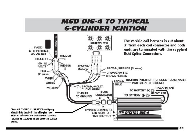 msd al wiring diagram ford wiring diagram msd 6al wiring diagram hei solidfonts