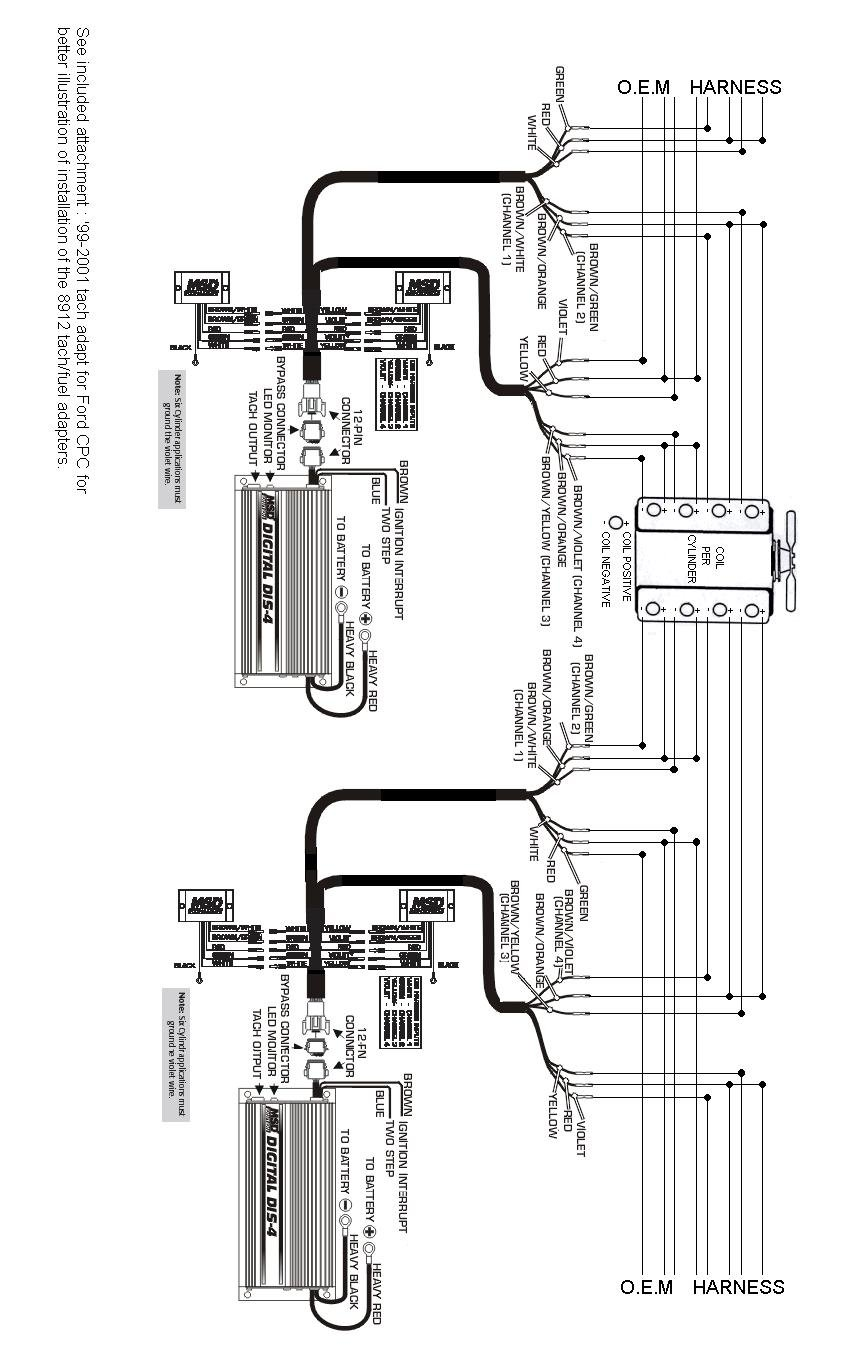 ford 460 msd ignition wiring diagram