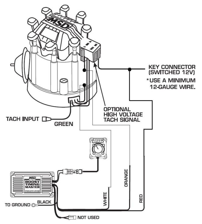 msd chevy hei ignition wiring diagram  center wiring
