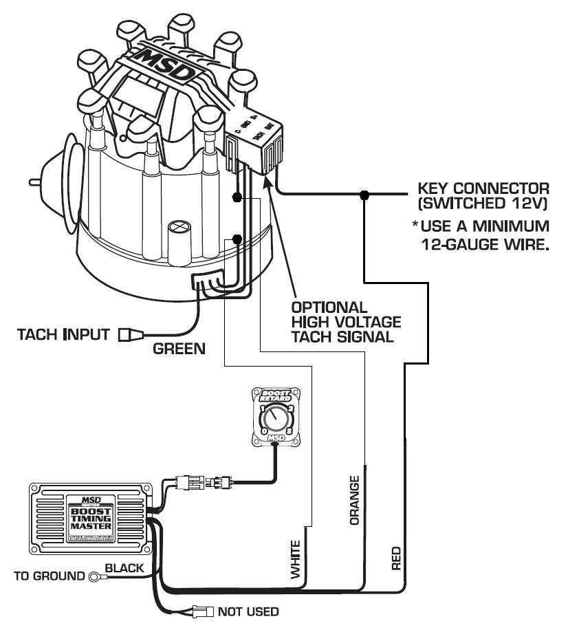 1978 dodge truck ignition wiring diagram cub cadet rzt 50 belt 5462 to hei distributor - msd blog