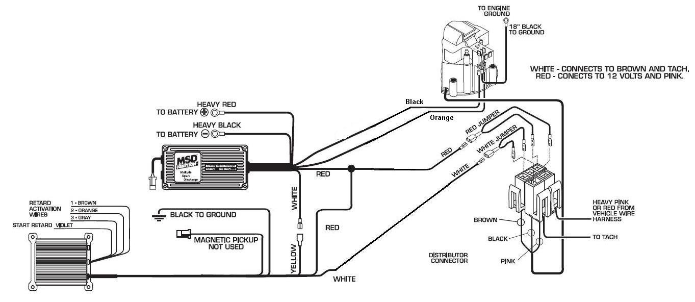 hight resolution of  ignition box wiring diagram pertronx msd street fire to 5 pin hei