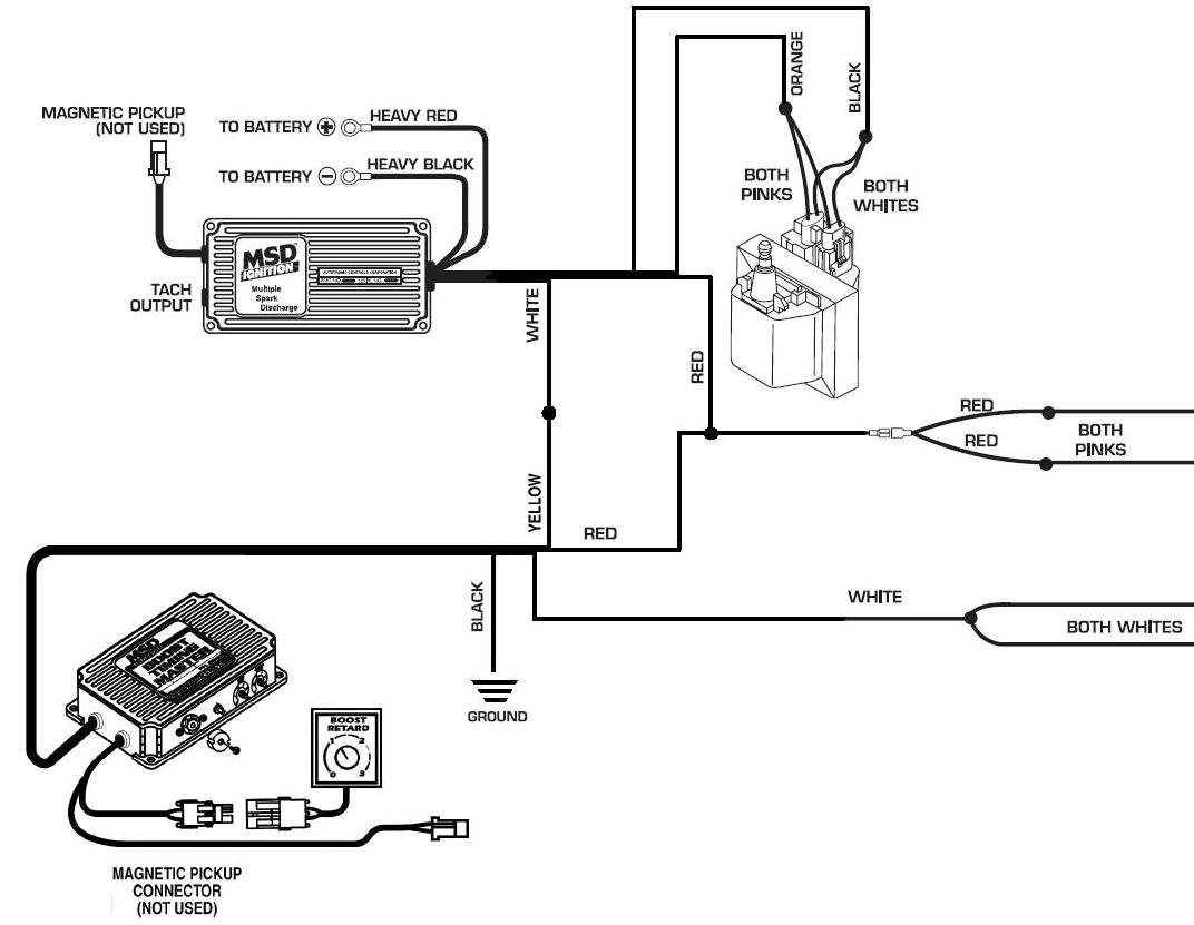 chevy 350 msd ignition wiring diagram  chevy  auto wiring