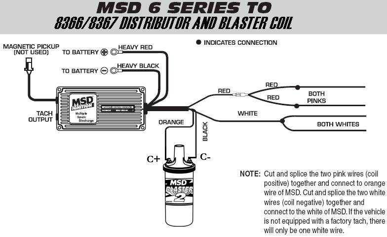 6 Series To 8366 Or 8367 And Blaster Coil  MSD Blog